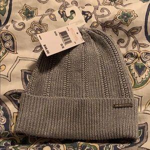 NWT Michael Kors silver winter hat